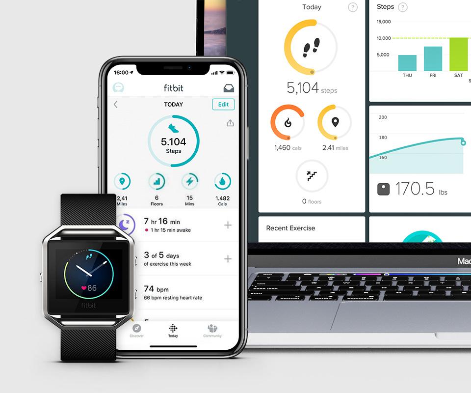 Fitbit Blaze UX Design